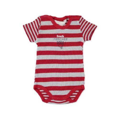 baby body dziecięce z krótkim rękawem tango red marki Kanz