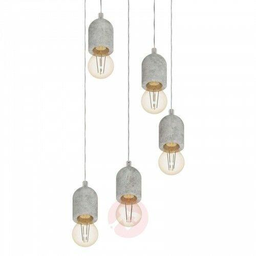 5-punktowa lampa wisząca silvares marki Eglo