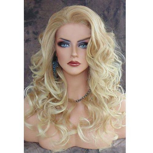 Shaggy curly long capless heat resistant synthetic wig wyprodukowany przez Rosegal