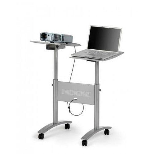 Stolik multimedialny twin lcd (2 platformy: projektor + laptop) marki Nobo