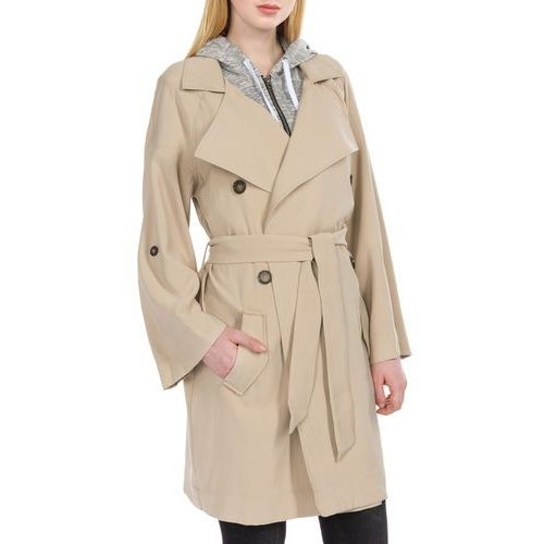 Guess Alexis Trench Coat Beżowy XS (7613351604785)