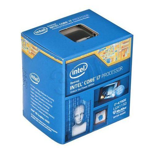 Intel Core i7-4790K 4.0 GHz - Devils Canyon - Socket 1150 - box, BX80646I74790K