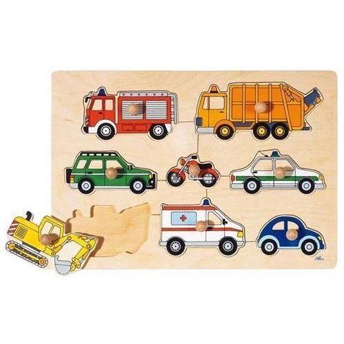 Puzzle środki transportu z drewna ekologicznego (4013594579964)