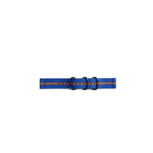 Samsung Gp-r600breecaj gear sport premium nato strap blue-orange (7613119112606)