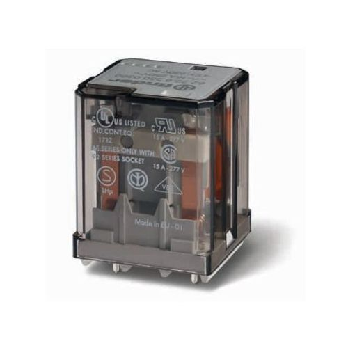Przekaźnik mocy 16A 2 NO (DPST) 110 V AC Finder 62.22.8.110.4300 (8012823291260)