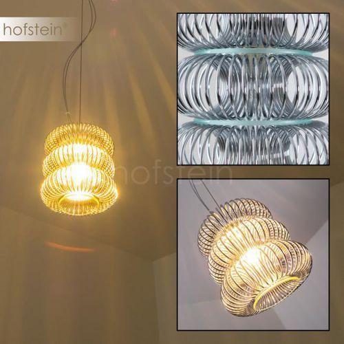 Hofstein Hearst lampa wisząca chrom, 1-punktowy - design - obszar wewnętrzny - - czas dostawy: od 3-6 dni roboczych (4058383009345)