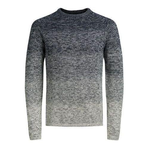 Sweter z okrągłym dekoltem, gruby splot marki Jack & jones