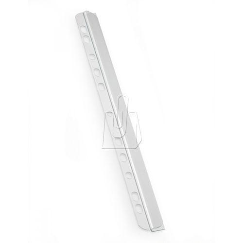 Listwy wsuwane z perforacją Durable 30 kartek 50 sztuk przeźroczyste 2902-19 (4005546290201)