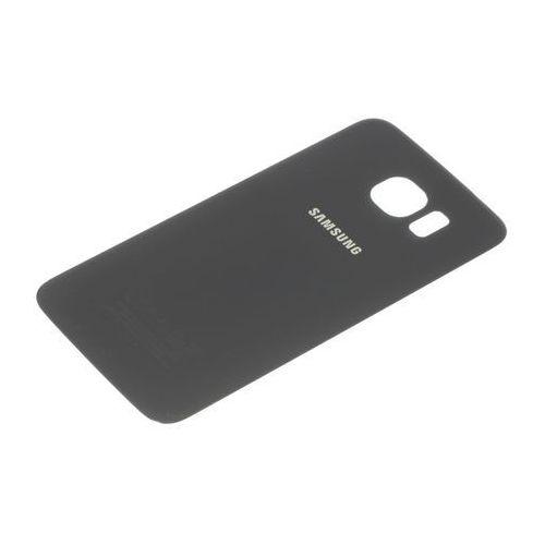 Samsung Klapka baterii galaxy s6 oryginalna grade a czarna - czarny / black \ grade a