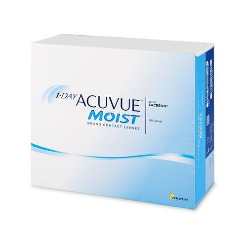 Johnson & johnson 1 day acuvue moist (180 soczewek)