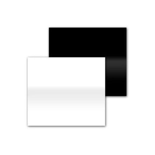 Funsports Podstawka akrylowa 40x50cm - 2w1 błysk mat - biała