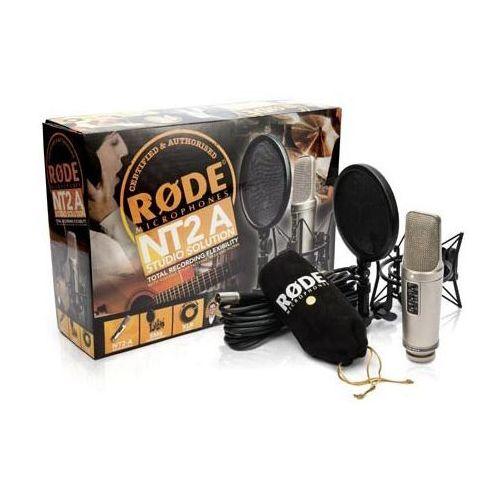 Rode NT2-A Kit studyjny mikrofon pojemnościowy z akcesoriami