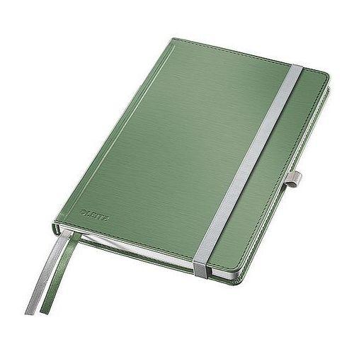 Notatnik w twardej oprawie Leitz Style A5 80 kartek kratka pistacjowa zieleń 44860053