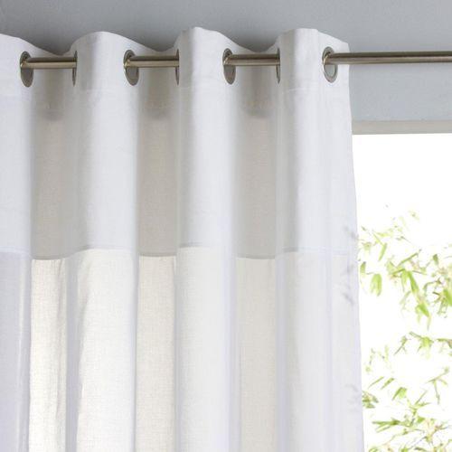 La redoute interieurs Firanka 100% bawełny, z przelotkami, osmain, kategoria: firany