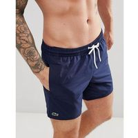 Lacoste swim shorts in navy - navy