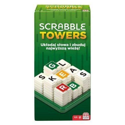 Mattel Gra scrabble towers (0887961744316)