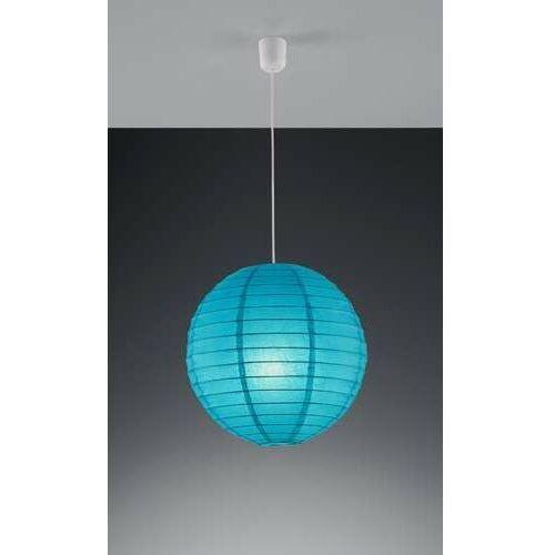 Trio PAPER 3490400-19 lampa wisząca zwis 1x60W E27 Niebieski
