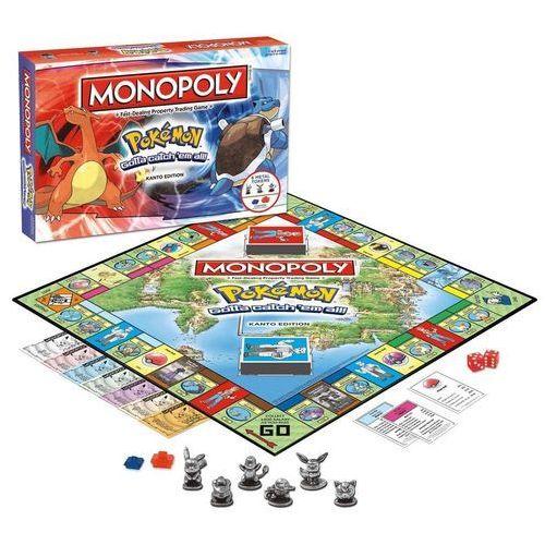 Monopoly pokemon kanto edition marki Winning moves