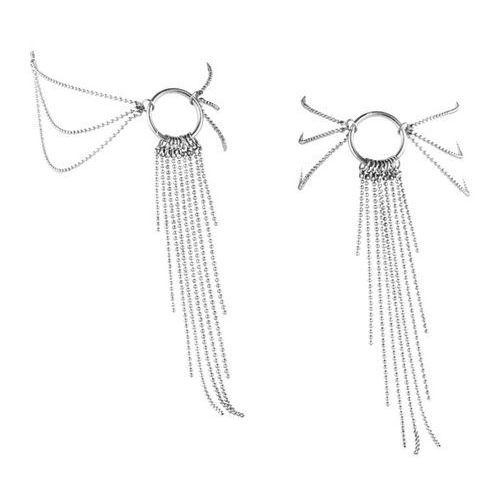 Bijoux indiscrets Ozdoby z łańcuszków na stopy -  magnifique feet chain srebrny