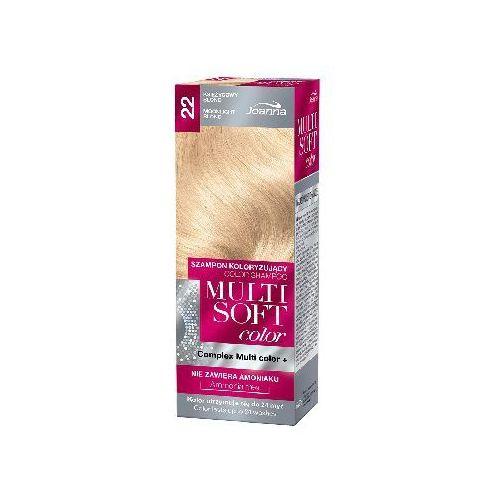 Joanna Multi Soft Color Szampon koloryzujący nr 22 Księżycowy Blond 1op. - Joanna (5901018015954)