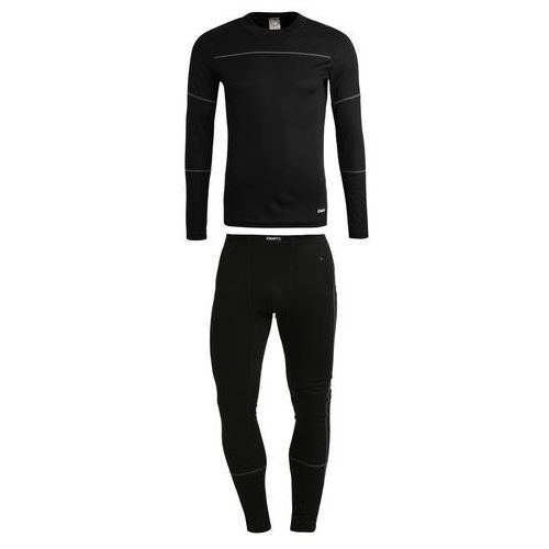 Craft baselayer set kalesony black/granite