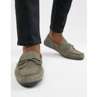 Kg by kurt geiger driving shoes in grey suede - grey, Kg kurt geiger