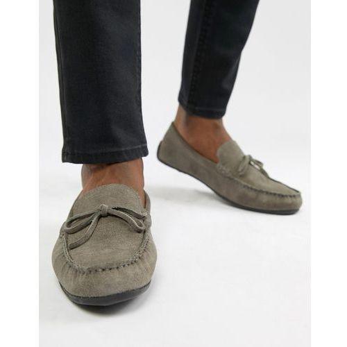 Kg by kurt geiger driving shoes in grey suede - grey, Kg kurt geiger