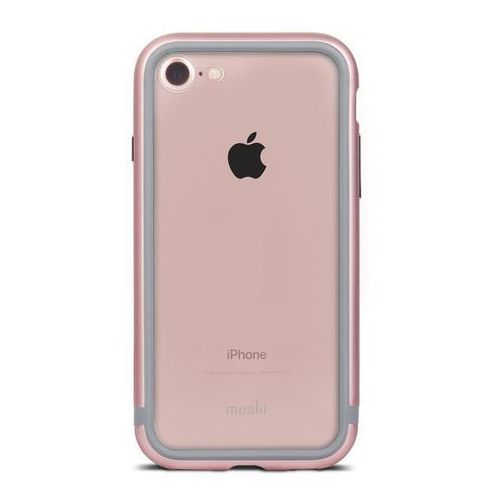 Moshi  luxe - aluminiowy bumper iphone 7 (rose pink)