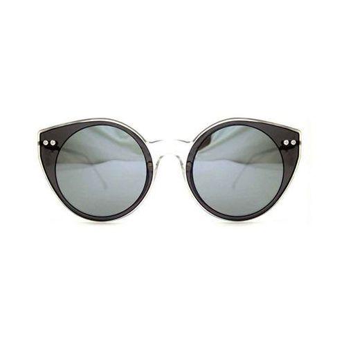 Okulary Słoneczne Spitfire Alpha Select Double Lens Clear/Black/Silver Mirror, kolor żółty