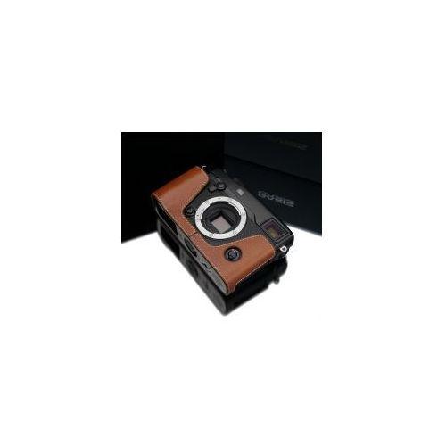 Halfcase z naturalnej skóry w kolorze beżowym dedykowany do Fuji Film X-PRO2, kolor beżowy