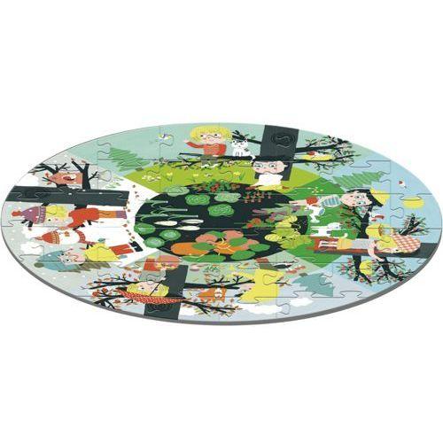 AVENUE MANDARINE Duże puzzle Pory roku (3609510500078)