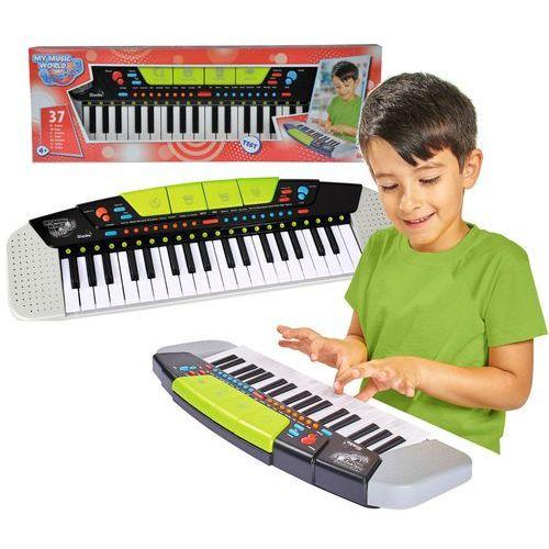 nowoczesny keyboard pianinko dla dzieci my music world marki Simba