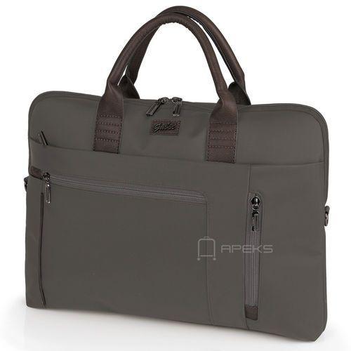 Gabol dallas damska torba na laptopa 17,3'' i tablet 10'' / gris - gris