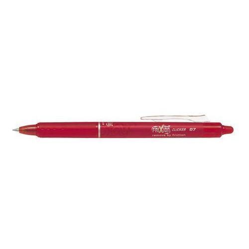 Pilot Długopis żelowy frixion ball clicker czerwony medium (4902505417504)