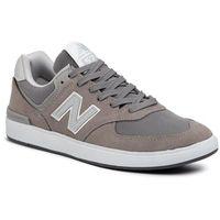 Sneakersy NEW BALANCE - AM574GRR Szary, kolor szary