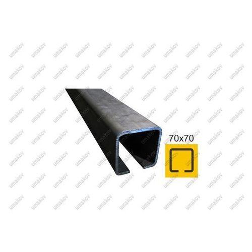 Profil do bramy przesownej Fe, 70x70x4mm, L6m