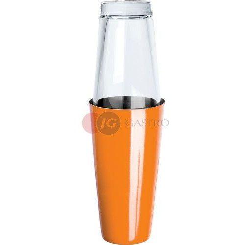 Shaker bostoński 0,9 l ze szklanką pomarańczowy 476003