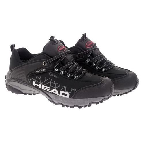 Czarne trekkingi młodzieżowe HEAD XX-209-23-14 black 36 czarny