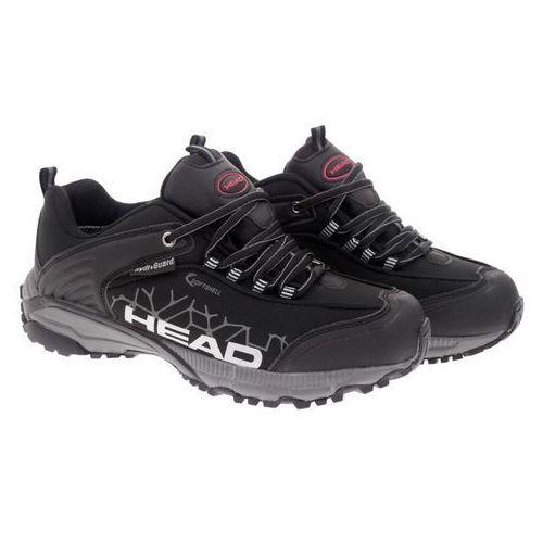 Head Czarne trekkingi młodzieżowe  xx-209-23-14 black 40 czarny