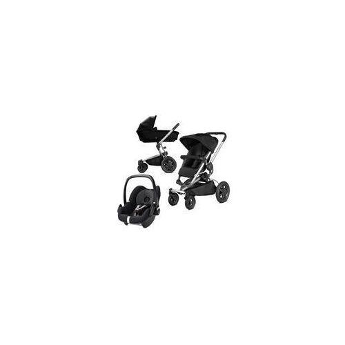W�zek wielofunkcyjny 3w1 buzz xtra + pebble (rocking black) marki Quinny