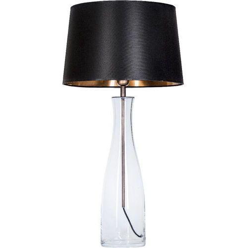 4concepts Lampa oprawa stołowa amsterdam 1x60w e27 czarny/miedź l211180250