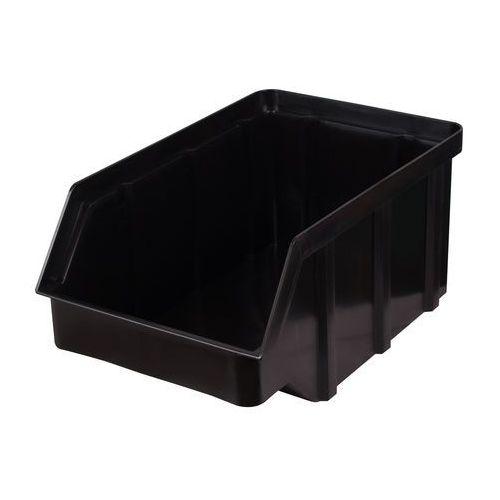 Plastikowy pojemnik warsztatowy - wym. 441 x 290 x 213 - kolor czarny marki Array