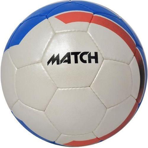 Piłka nożna match biało-niebieski (rozmiar 5) marki Axer sport
