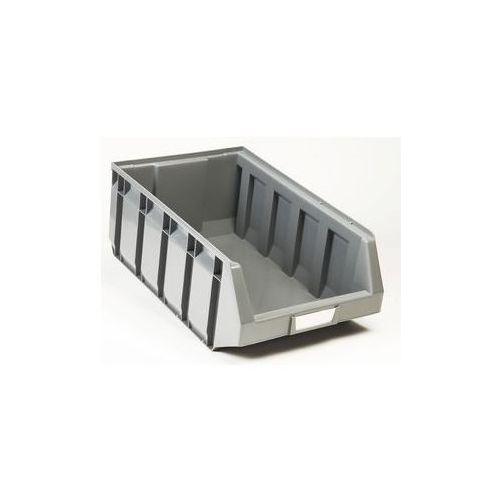 Otwarty pojemnik magazynowy z polietylenu,dł. x szer. x wys. 485 x 298 x 189 mm