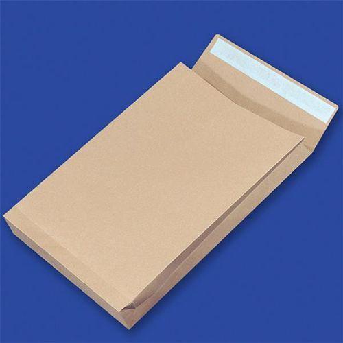 Koperty RBD z taśmą silikonową OFFICE PRODUCTS, HK, E4, 280x400mm, 150gsm, 250szt., brązowe, 15263819-18
