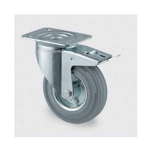 Koła przemysłowe z maksymalnym obciążeniem 70-205 kg, szara guma (4031582305098)