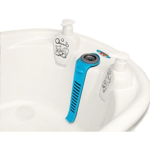 Wanienka z czujnikiem temperatury 90 x 45 x 23 cm KINDERSAFE 6707 niebieska - Niebieski