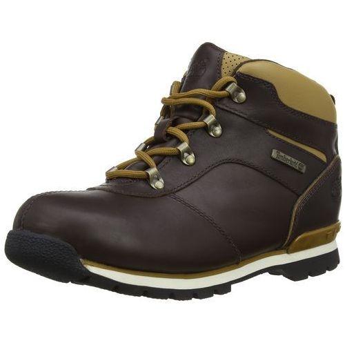 Timberland Split spódnica 2, wysokie Sneakers dla chłopca - brązowy - 34.5 EU, kolor brązowy