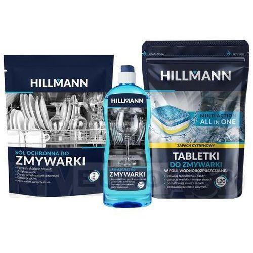HILLMANN tabletki + nabłyszczacz + sól
