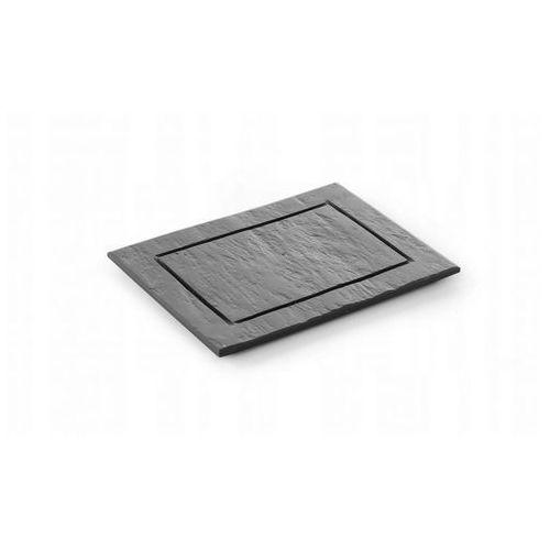 Hendi Płyta łupkowa modern - talerz 25x25 cm